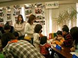 子ども達も楽しく参加しました